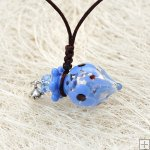 Murano Glass Aromatherapy Necklace PN498