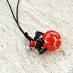 Murano Glass Aromatherapy Necklace PN489