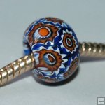 Millefiori beads fit Pandora Jewelry P0009,sold per 10 beads