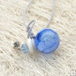 Murano Glass Aromatherapy Necklace PN480
